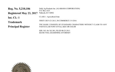 Congratulations, READY-CAL®️ on your trademark registration!